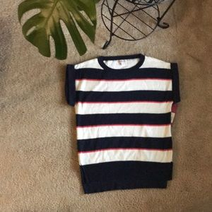 NWT Short sleeve sweater